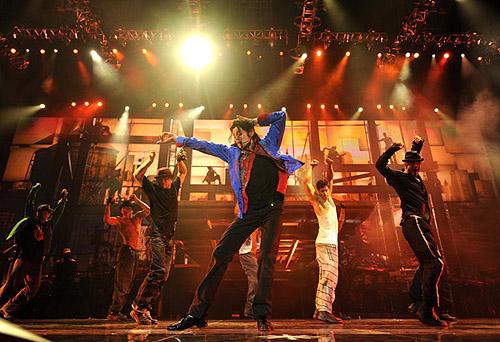 MJ last concert pics