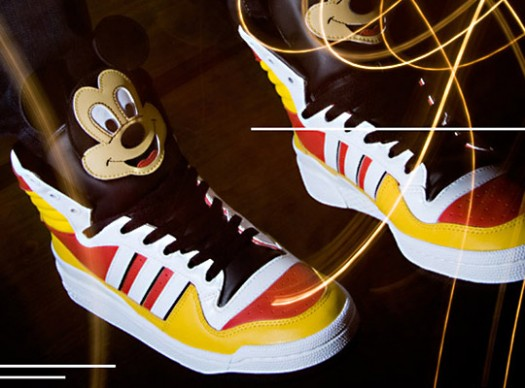 d129071da7b9 Jeremy Scott X Mickey Mouse X Adidas – Garibaldi – World-renowned ...