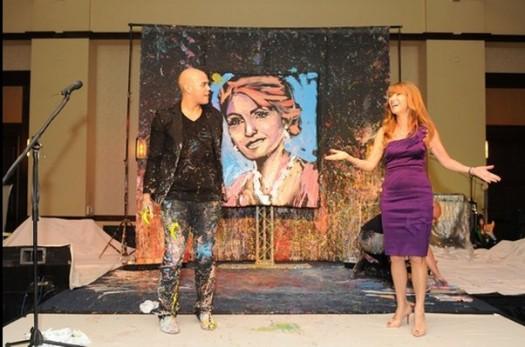 David Garibaldi and Jane Seymour